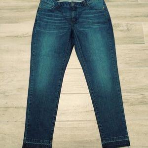 Michael Kors Basic MD Vintage Izzy Skinny Jeans